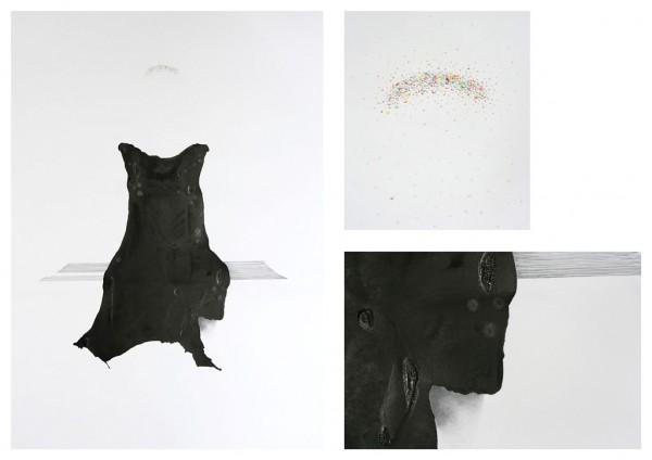 Mijmeren Mixed media, 100x140cm, 2013