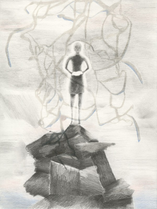 Lamb Pencil on paper, 23 x 31 cm, 2014