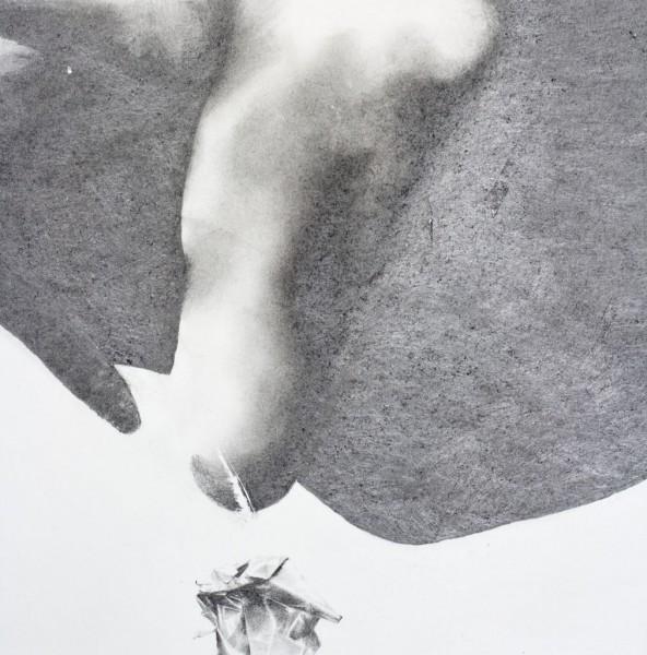 Waar ik jou word pencil drawing on paper, 138x100 cm, 2010-2016