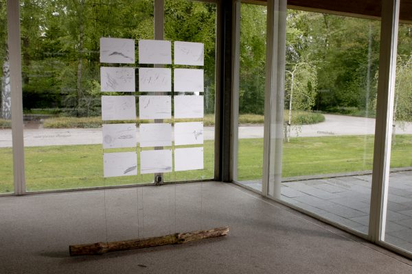 Exhibition in Zone2Source, het Glazen Huis, Amstelpark, Amsterdam, 2017, photo by Harold van de Kamp