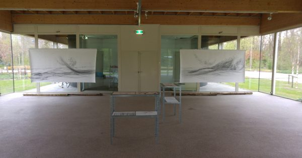 Exhibition in Zone2Source, het Glazen Huis, Amstelpark, Amsterdam, 2017