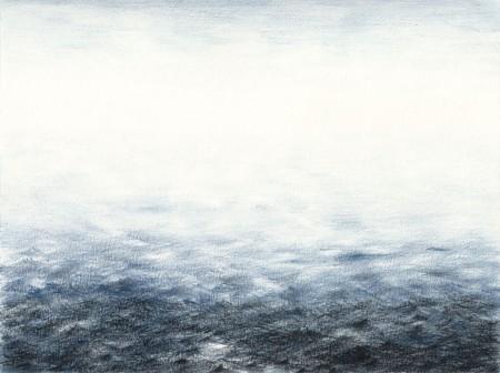 Light cleans the horizon Pencil on paper, 31 x 23 cm, 2014