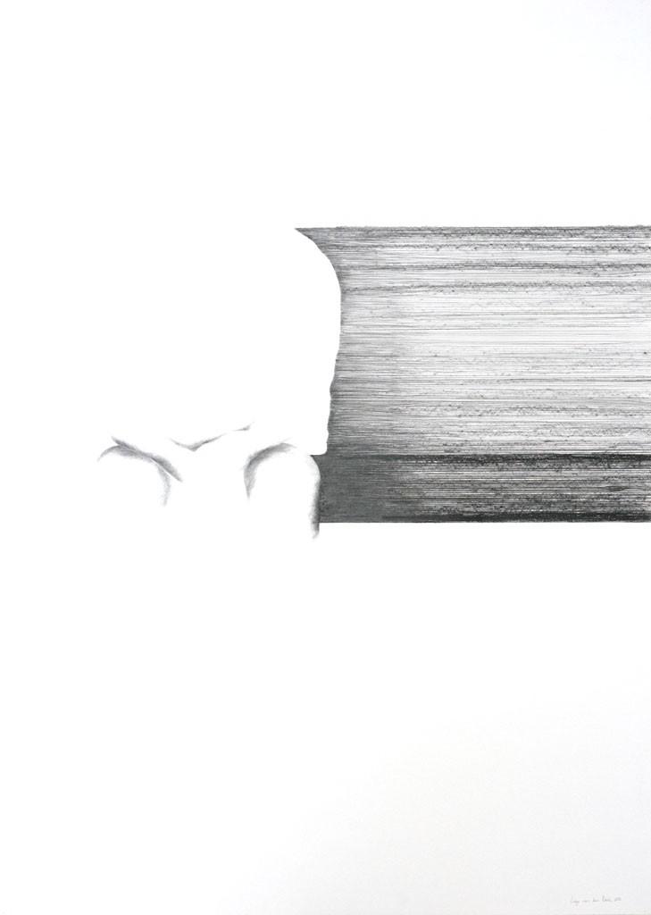 Mijmeren Pencil drawing, 100x140cm, 2013